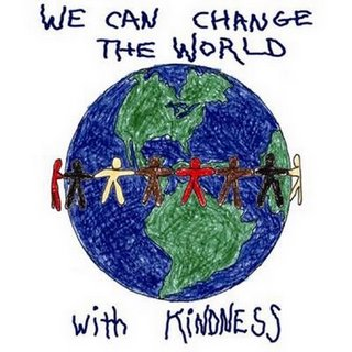 Be the change you wish to see in the world!! Be the light!!