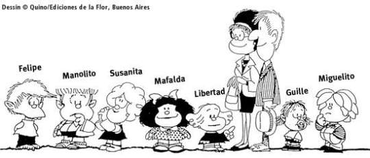 My beloved Mafalda and the gang.