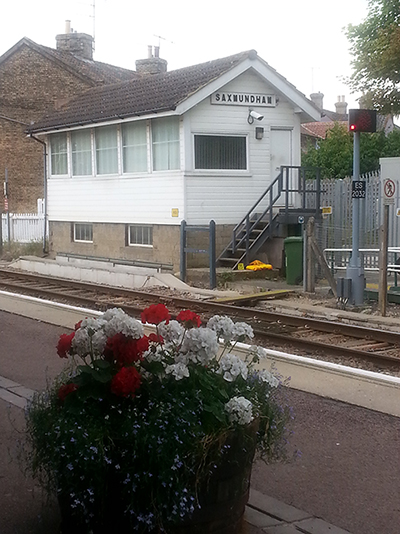 Saxmundham, the starting point of our adventure 旅程起點